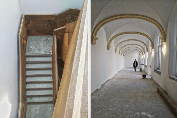 1062 vue escalier cloître