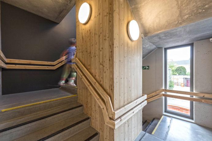 Escalier secondaire
